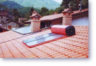 Thermosiphon Passive Solar Water Heater