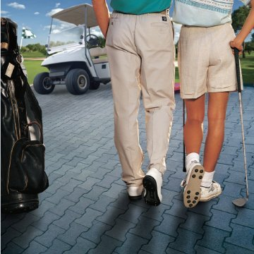 Eco-Rubber Golf Path Pavers