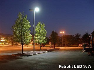 LED Retrofit = Fewer Watts