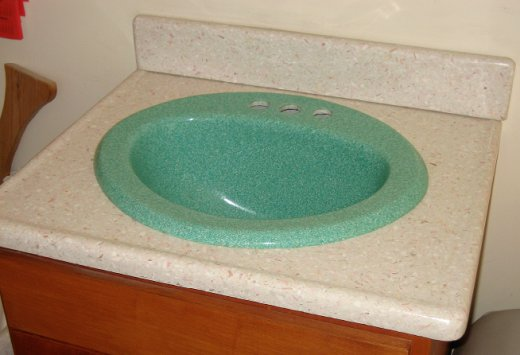 Conch Counter Top and Sink