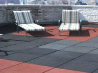 Eco-Rubber Outdoor Tiles