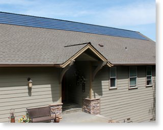 Sun Energy Roofing Tiles