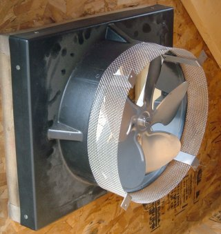 Gable Mount Solar Powered Attic Fan